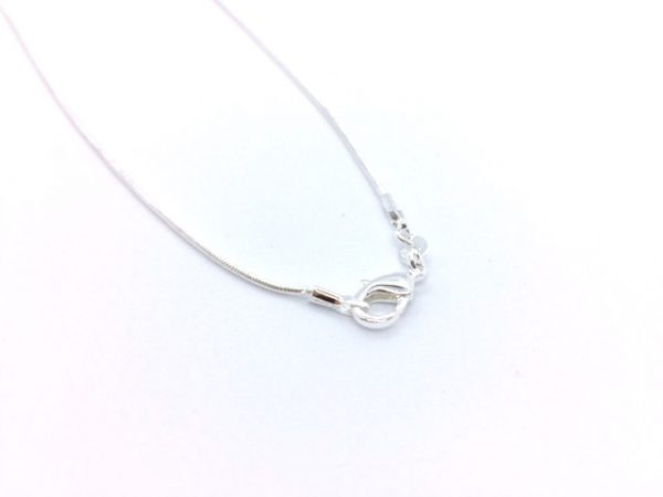 inspired designs silver necklace