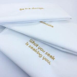 inspired designs napkins buddha series