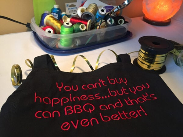 inspired designs bbq apron